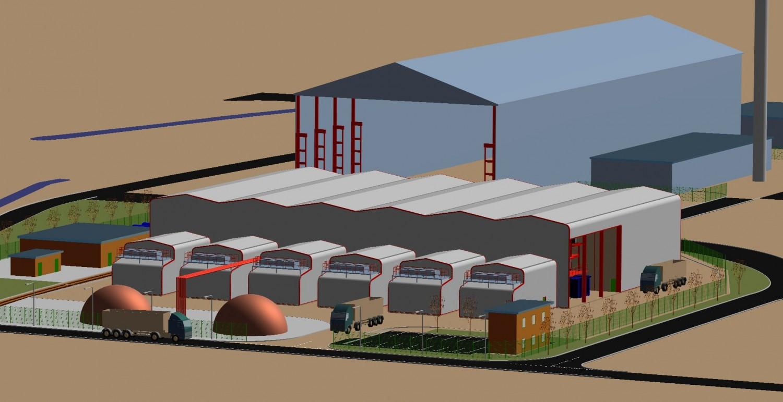 12 MW 3D layout