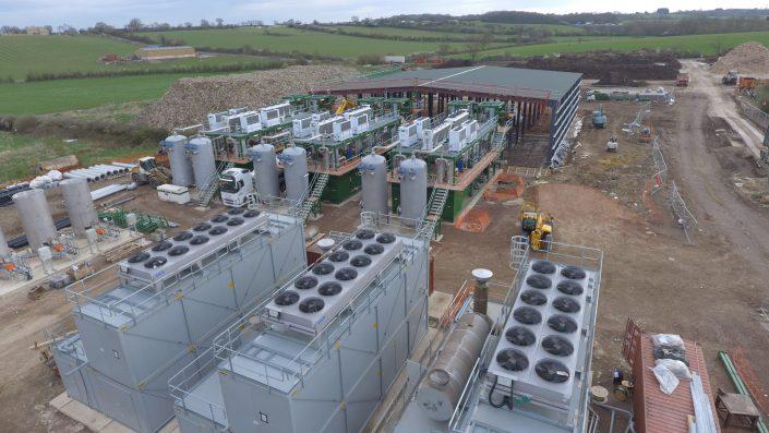Swindon Energy Aerial View 2