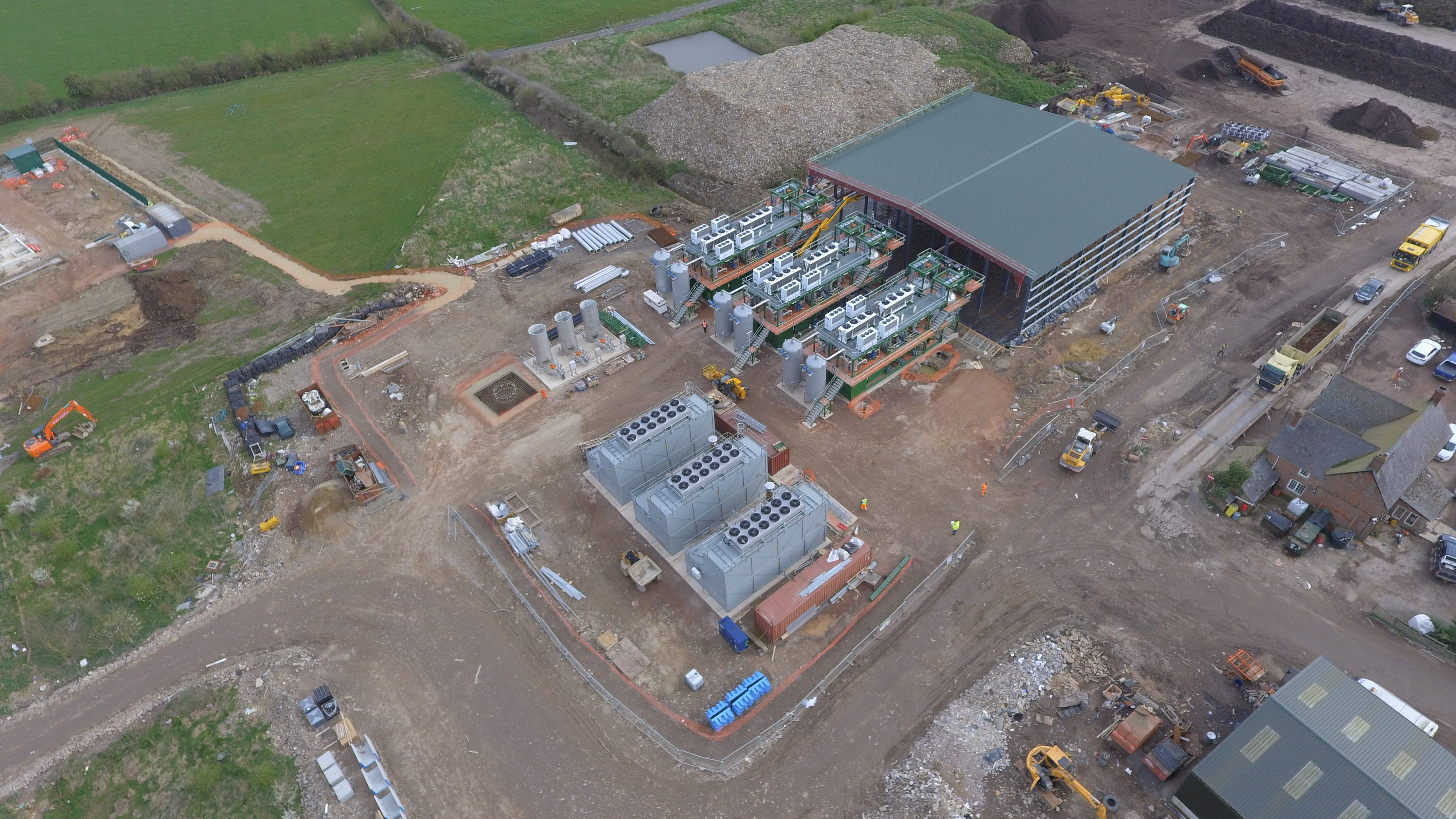 Swindon Energy Aerial View 4